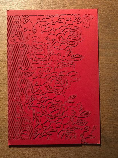 Floral Elegant Folder