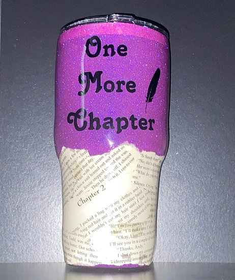 One More Chapter Book Tumbler