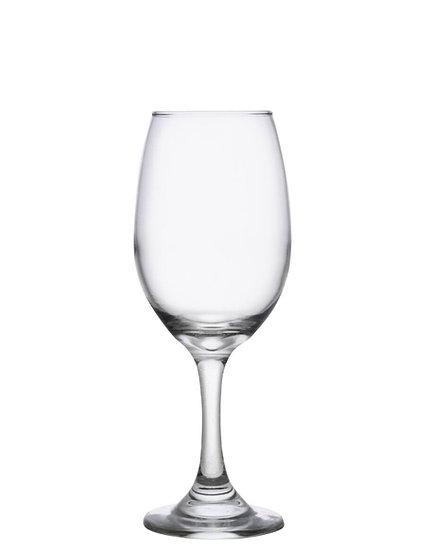 Wedding Etched Stemmed Wine Glass