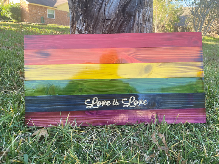 Love is Love Pride Flag (large)