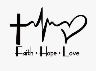 Faith Hope Love Decal