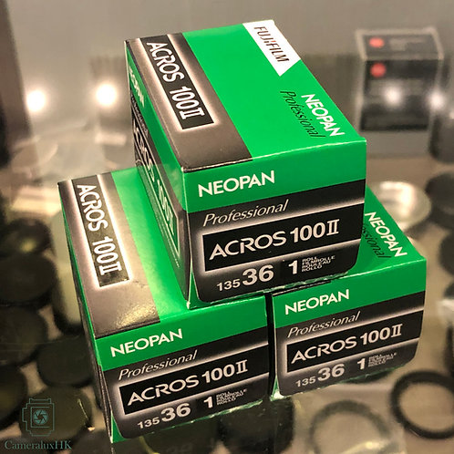 Fujifilm Neopan ACROS 100 II 135-36 Black and White film