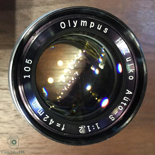 Olympus Pen F H. Zuiko Auto-S 42mm f1.2 cover APSC