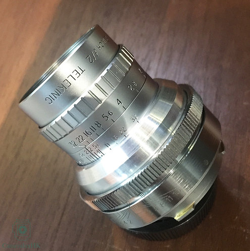 Cooke Telekinic 2 inch f2.0 Modified to M Mount by AF Wong