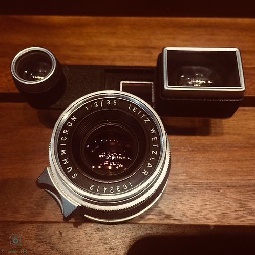 Leica Summicron 35mm f2.0 with Goggle(8 Element) Yr 1958(SOLD)
