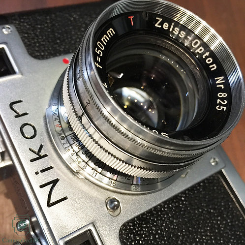 Zeiss Opton Sonnar T* 50mm f2.0 Contax Mount