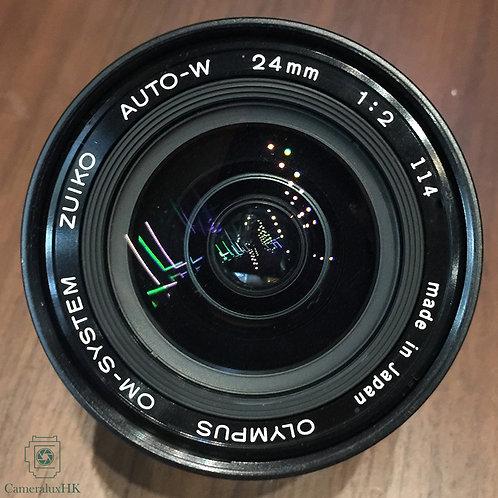 Olympus OM-System Zuiko Auto-W 24mm f2.0 MF(Rare)