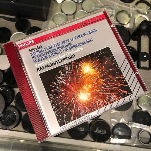 Handel: Music for The Royal Fireworks & Water Music by Philips