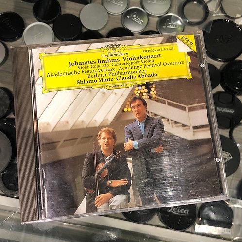 Brahms: Violin Concerto Academic Festival Overture by Deutsche Grammophon