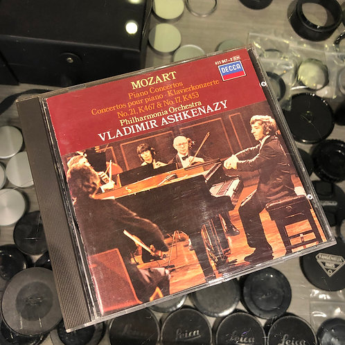 Mozart : Piano Concertos Klavierkonzerte No.21 K467 & No.17 K453(Sold)