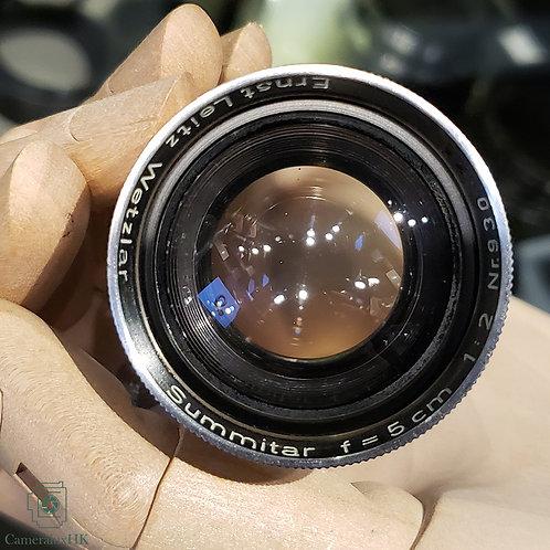 Leica Summitar 5cm f2.0 Collapsible LTM Yr1951