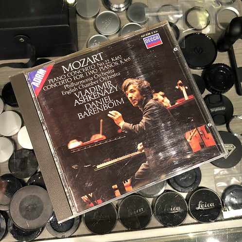Mozart : Piano Concerto No. 22, K482 Concerto for Two Pianos, K365 by Decca