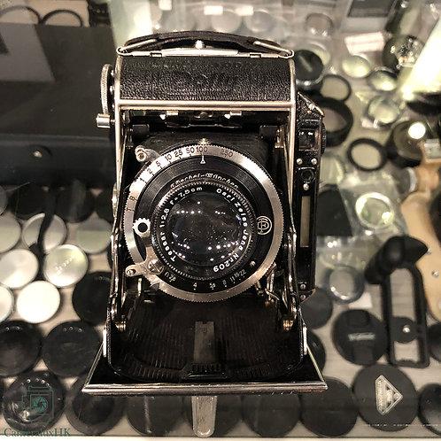 Super Sport Dolly 645 Rangefinder Film Camera with Tessar 7.5cm f2.8 (Rare)