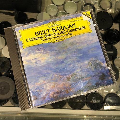 BIZET L'Arlésienne-,Carmen-Suite Karajan by Deutsche Grammophon