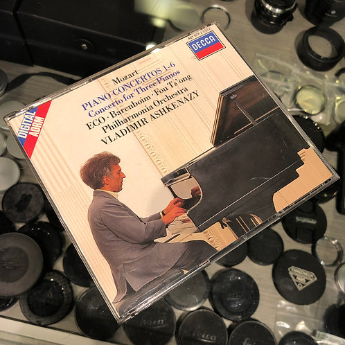 Mozart : Piano Concertos 1-6 Concerto for Three Pianos by Decca 2 CD