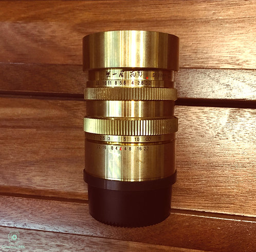 Muichikyo Hanakage(無一居 花影) S1 60mm f2.2 M39 Japan Made(SOLD)