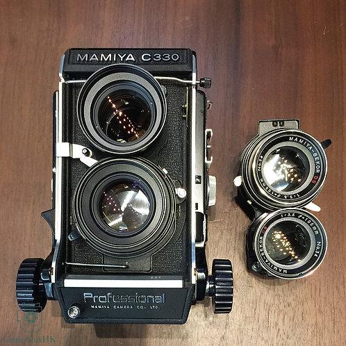 Mamiya C330 Professional w/ Sekor S 80mm f2.8 + Sekor DS 105mm f3.5