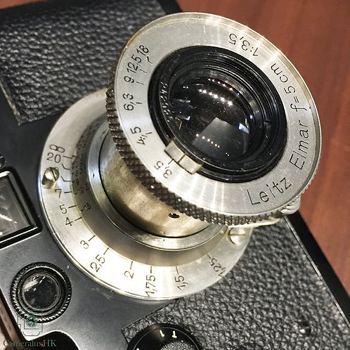Leica Elmar 50mm f3.5 Collapsible LTM Nickel Yr 1935 (Sold)