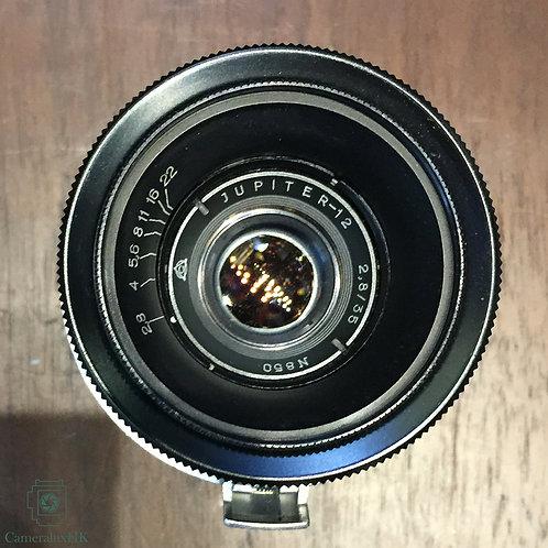 Jupiter 12 35mm f2.8 Contax RF External Mount