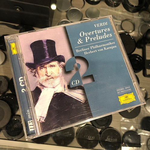 Verdi: Overtures & Preludes by Deutsche Grammophon 2CD