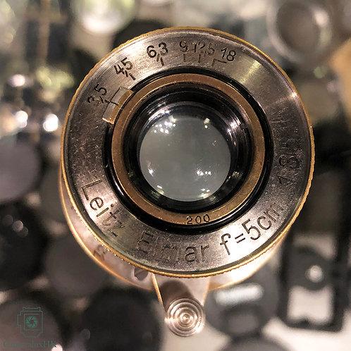 Leica Elmar 50mm f3.5 Collapsible LTM Nickel Yr 1934
