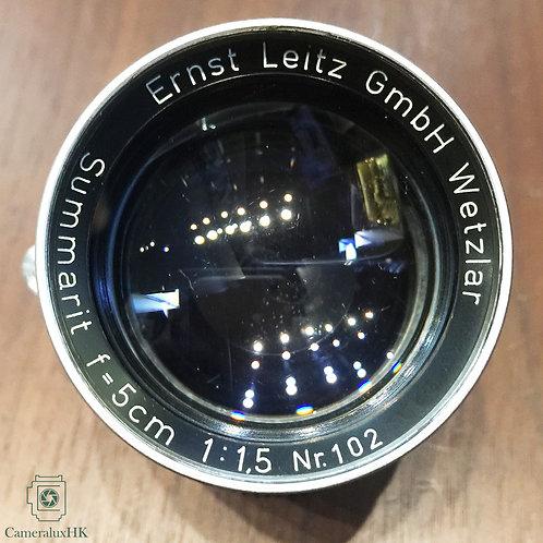 Leica Summarit 5cm f1.5 LTM Yr 1952