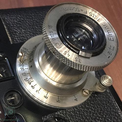Leica Elmar 50mm f3.5 Collapsible LTM Nickel Yr 1931 (Sold)