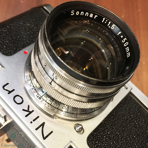Zeiss Opton Sonnar 50mm f1.5 Contax Mount