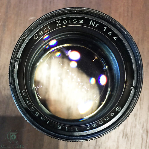 Carl Zeiss Sonnar 50mm f1.5 Contax Mount