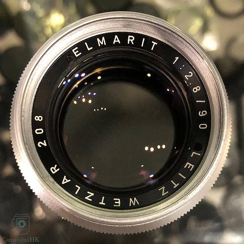 Leica Elmarit 90mm f2.8 V1 Chrome Yr 1965
