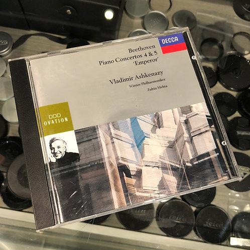 Beethoven: Piano Concertos Nos 4 & 5 by Decca