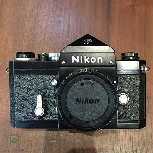 Nikon F Black Camera Body with Eye Level Prism Viewfinder