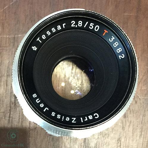 Carl Zeiss Jena Tessar T* 50mm f2.8 M42