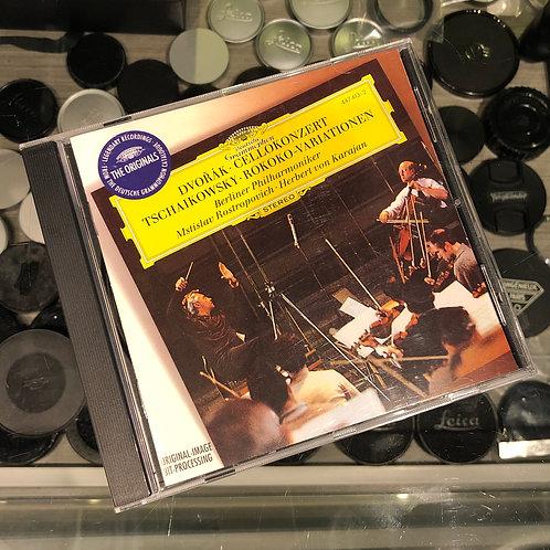 Dvořák: Cello Concerto Tchaikovsky: Rococo Variations by Deutsche Grammophon