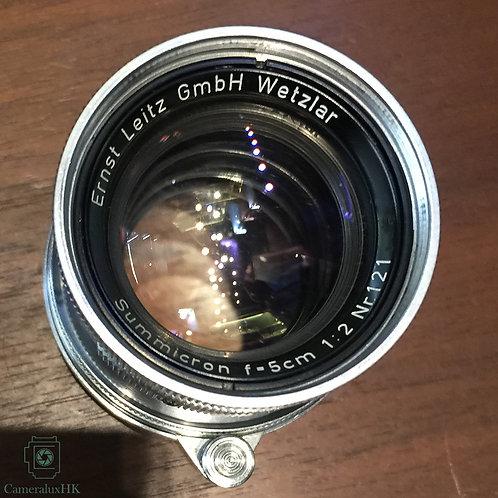 Leica Summicron 5cm f2.0 V.1 Collapsible LTM Yr 1954