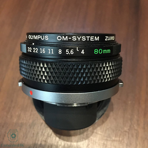 Olympus OM-system Zuiko Macro MC 80mm f4.0