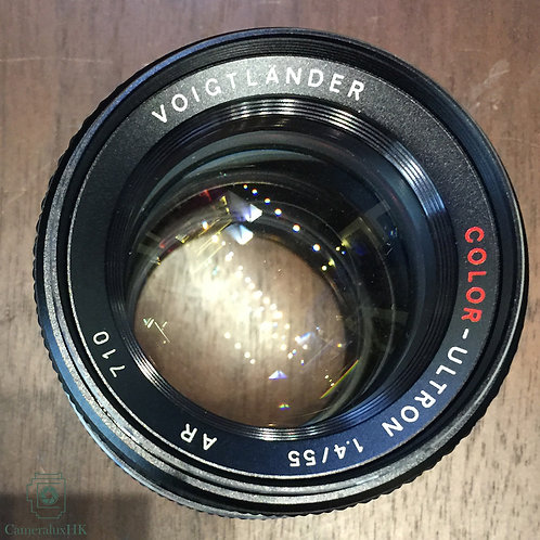 Voigtlander Color-Ultron 55mm f1.4 QBM Mount Made in West Germanyu(Rare)