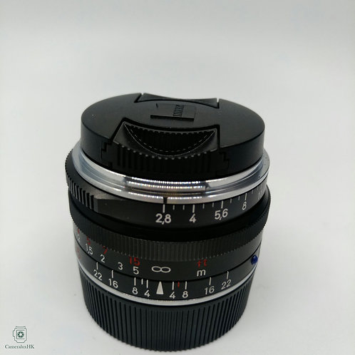 Carl Zeiss C Biogon T* 35mm f2.8 Black ZM M Mount(Like new with box)(SOLD)