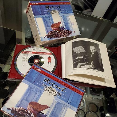 Wolfgang Amadeus Mozart : Piano Variations, Rondos 5CD
