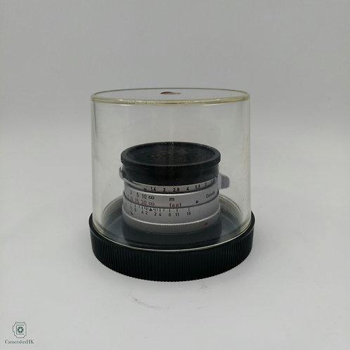Leica Summilux-M 35mm f1.4 Silver Steel Rim Yr1960(SOLD)