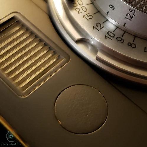 Black Paint Brass Plain Logo for Leica M6 / M7  / M8 / M8.2 & M9