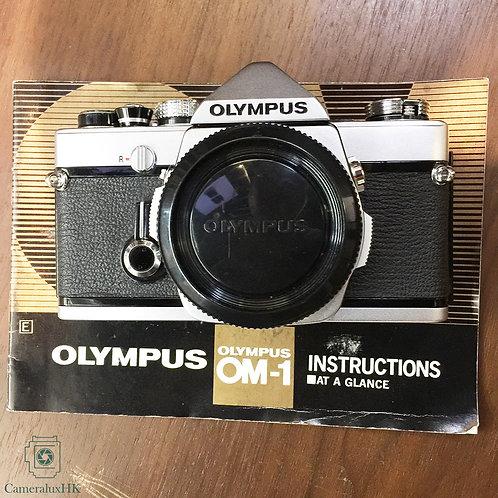 Olympus OM1 SLR Film Camera Silver Body(Sold)