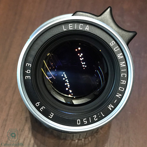 Leica Summicron-M 50mm f2.0 V.4 Silver 11825 with hood(Sold)