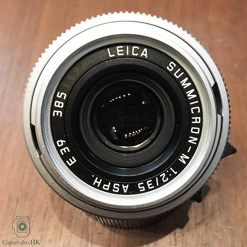 Leica Summicron-M 35mm f2.0 ASPH V1 Silver 11882