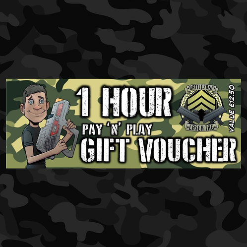 1 Hour Pay 'N' Play Voucher