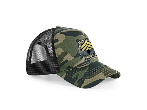 Battlezone Trucker Hat Green Camo