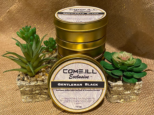 Gentleman Black Hair & Beard Moisturizer