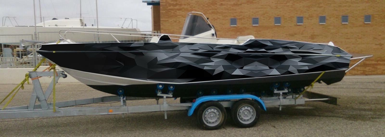 bateau covering boat seur d'adhésifs