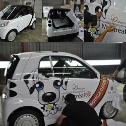 #smartcar impresión gran formato y #rotulacion comercial