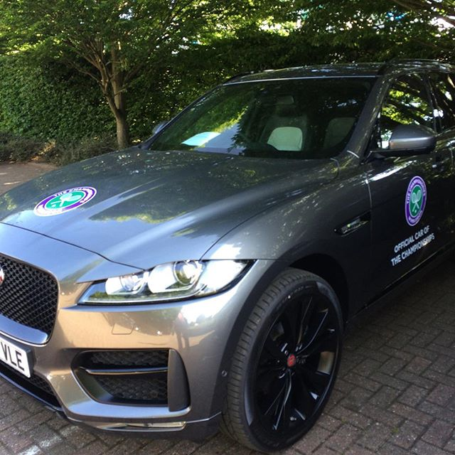 185 cars to do for Wimbledon tennis championships #wimbledon #tennis #jaguarxf #jaguar #landroverdis